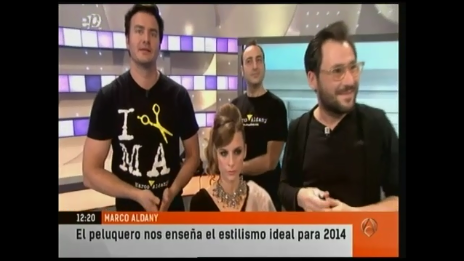 Marco Aldany tendencias en Antena 3