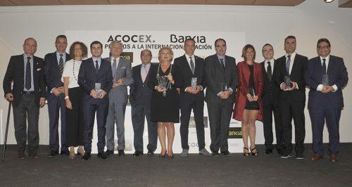 I Premios ACOCEX Bankia a la internacionalización