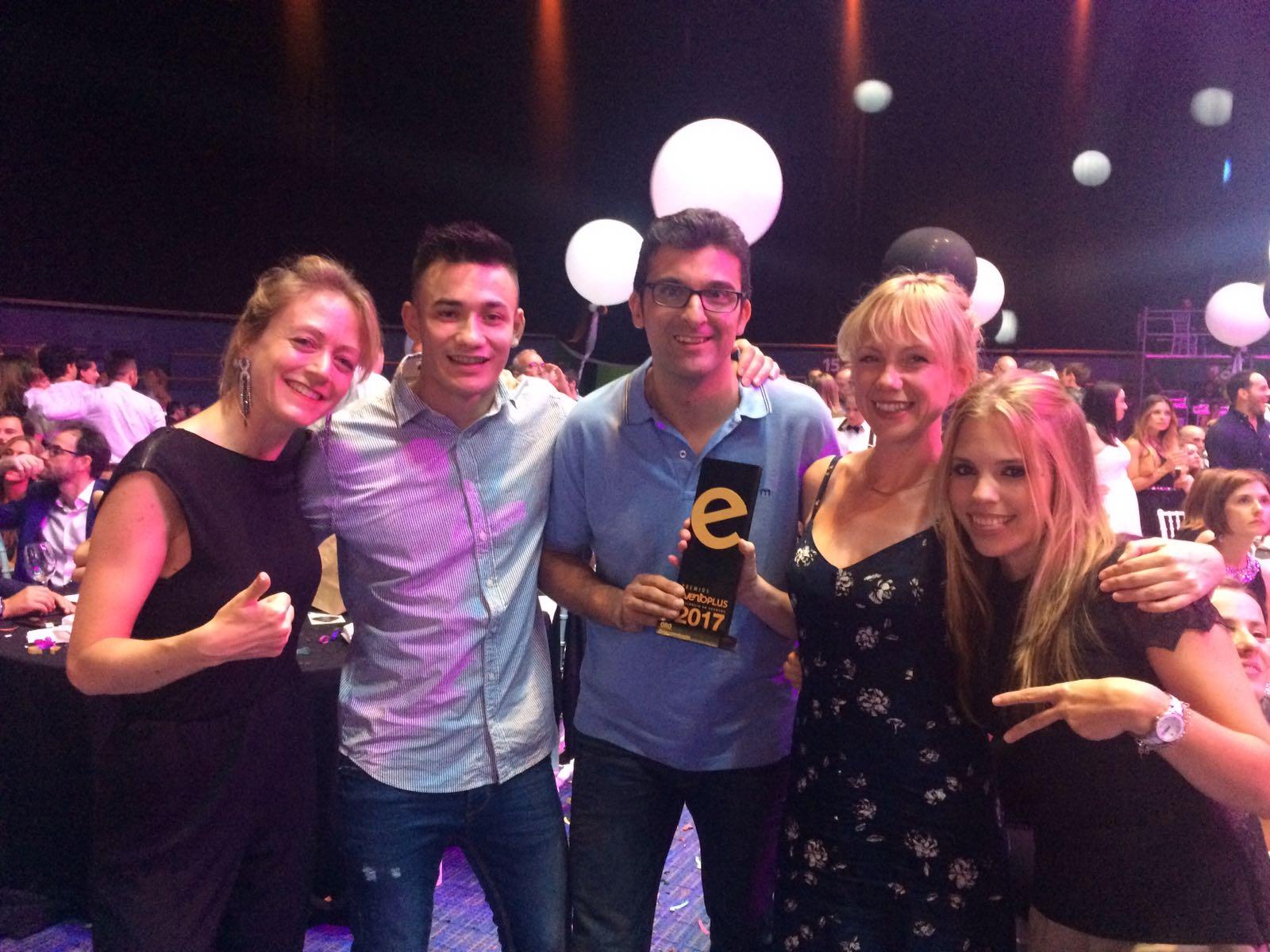 ORO mejor comunicación Premios EventoPlus
