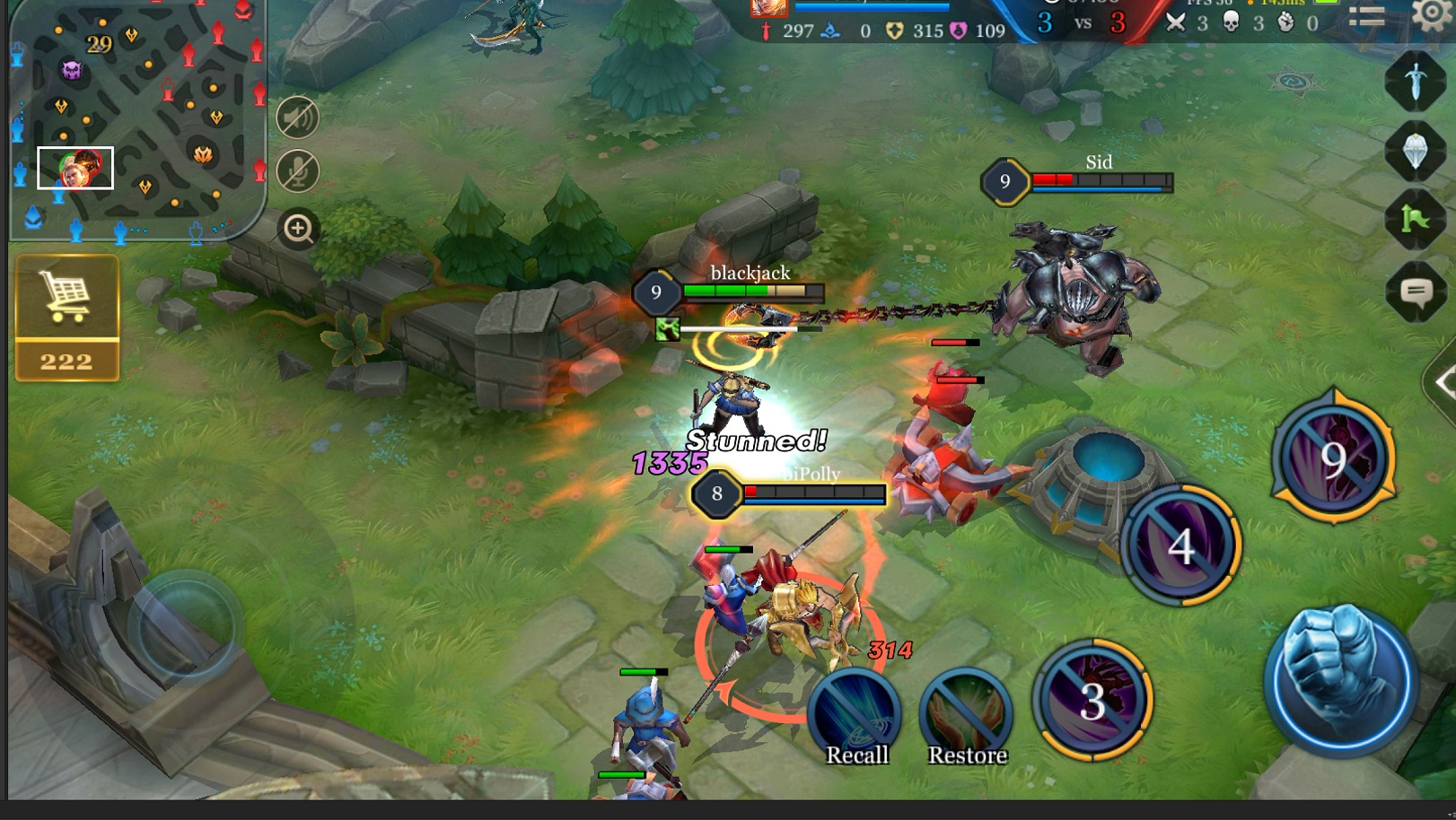 "El MOBA ""Arena of Valor"" de Tencent para dispositivos móviles ya está disponible en Europa"