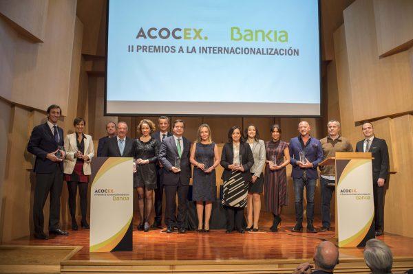 ACOCEX y Bankia entregan sus II Premios a la Internacionalización