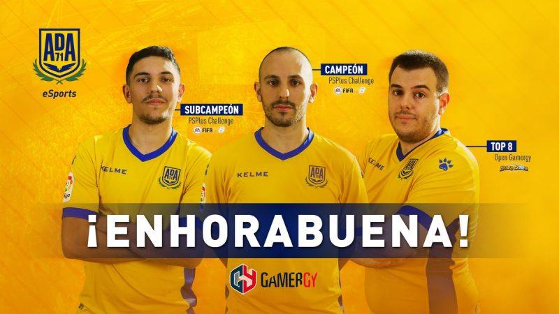 La sección de eSports de la A.D. Alcorcón se hace con su primer título en la octava edición de Gamergy