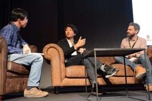 Fumito Ueda en el Festival Fun & Serious en Bilbao