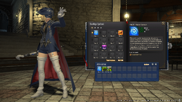 Final Fantasy Blue Mage