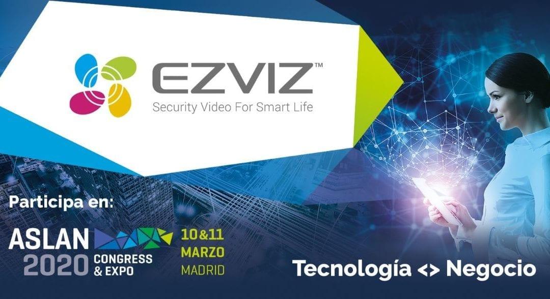 EZVIZ participará en el congreso Aslan 2020
