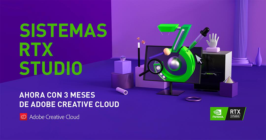 NVIDIA y Adobe unen fuerzas para apoyar al sector profesional con los sistemas Studio