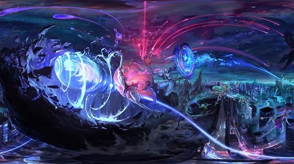Las Galaxias llegan al set 3 de Teamfight Tactics