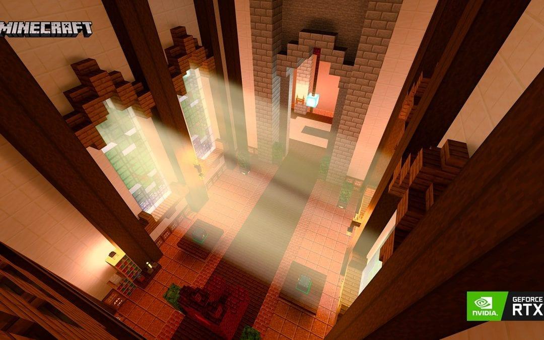 NVIDIA presenta novedades para Minecraft RTX