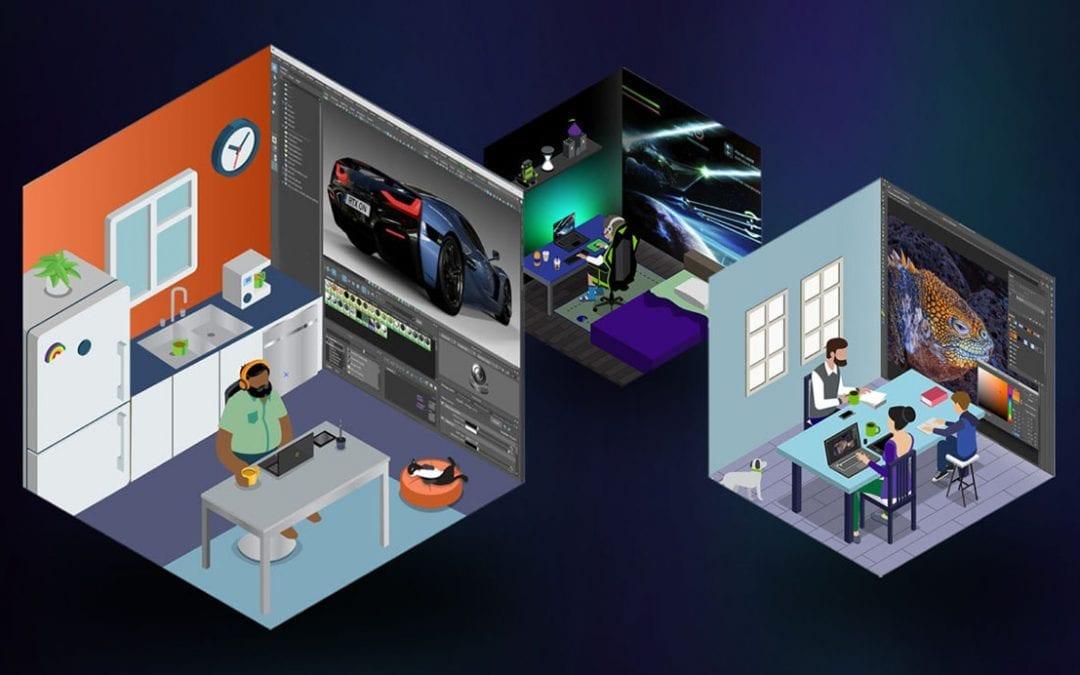 NVIDIA y desarrolladores de software presentan ayudas para el teletrabajo