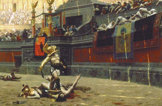 Pioneros de la comunicación: en la antigua Roma ya existían eventos patrocinados
