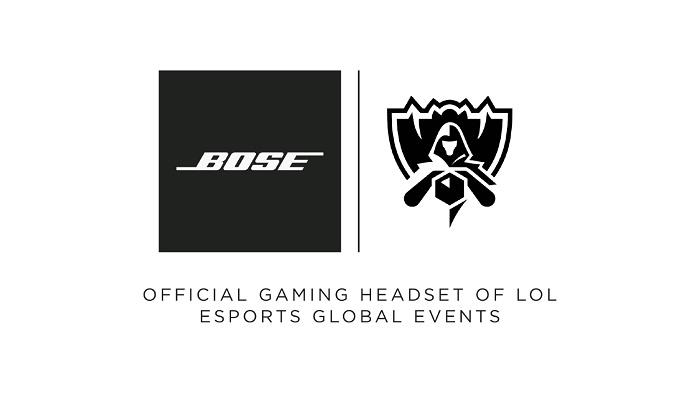 Bose® será la marca oficial de cascos de los eventos globales de LoL Esports