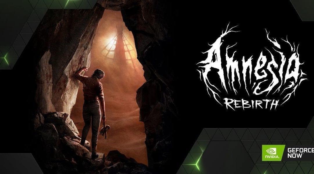Amnesia: Rebirth y Pumpkin Jack llegan a GeForce NOW