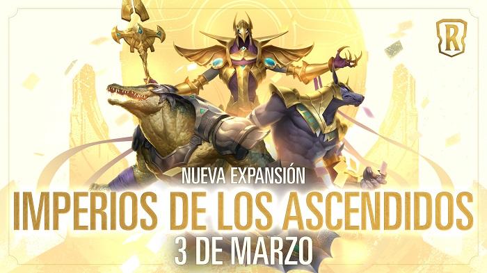 Riot Games anuncia Legends of Runeterra: Imperios de los Ascendidos